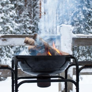 Grillen im Winter